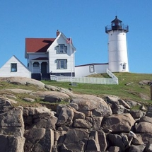 Nubble Lighthouse York Beach,-ME